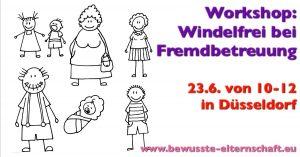 Windelfrei Workshop Windelfrei und Fremdbetreuung