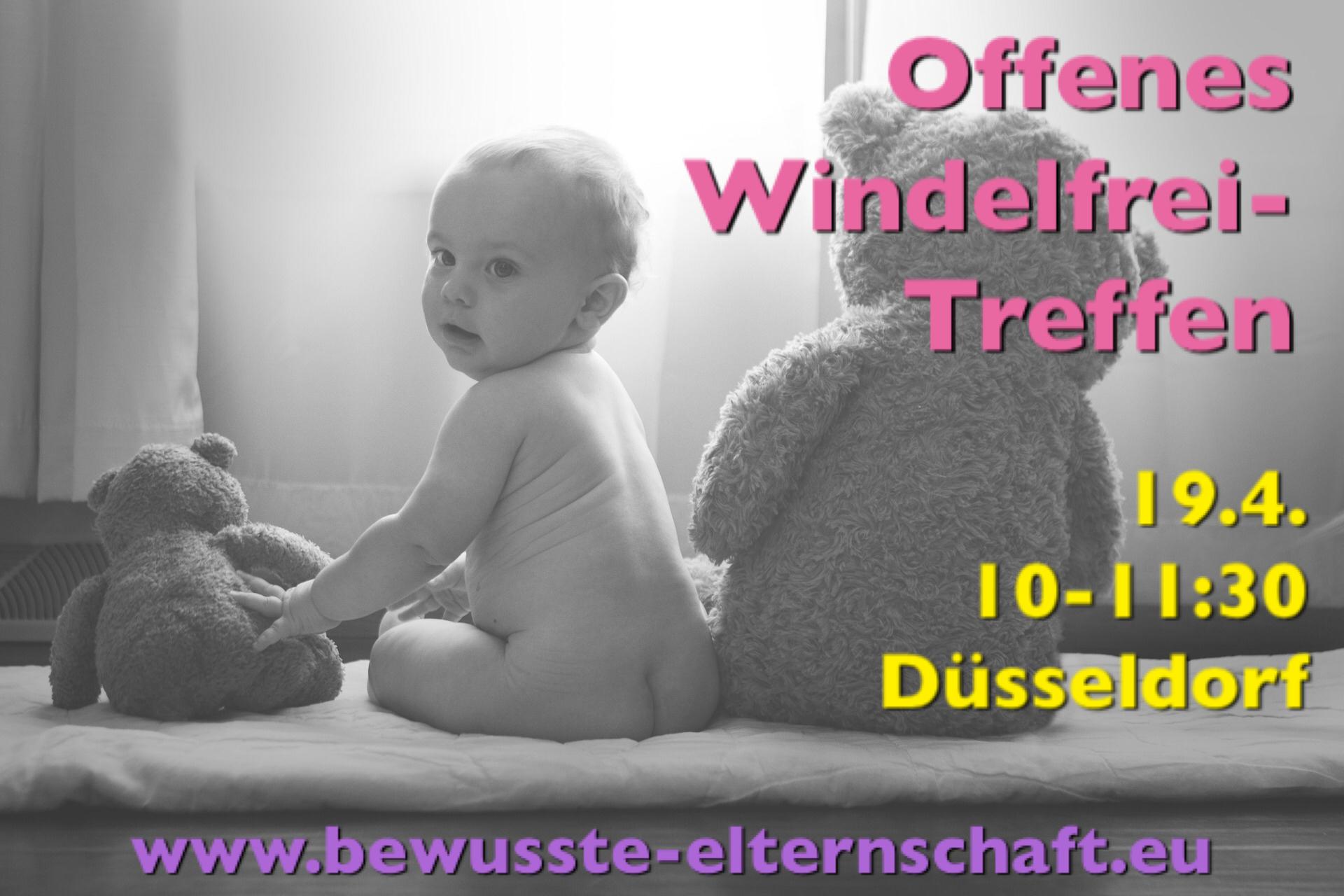 Offenes Windelfrei Treffen Düsseldorf