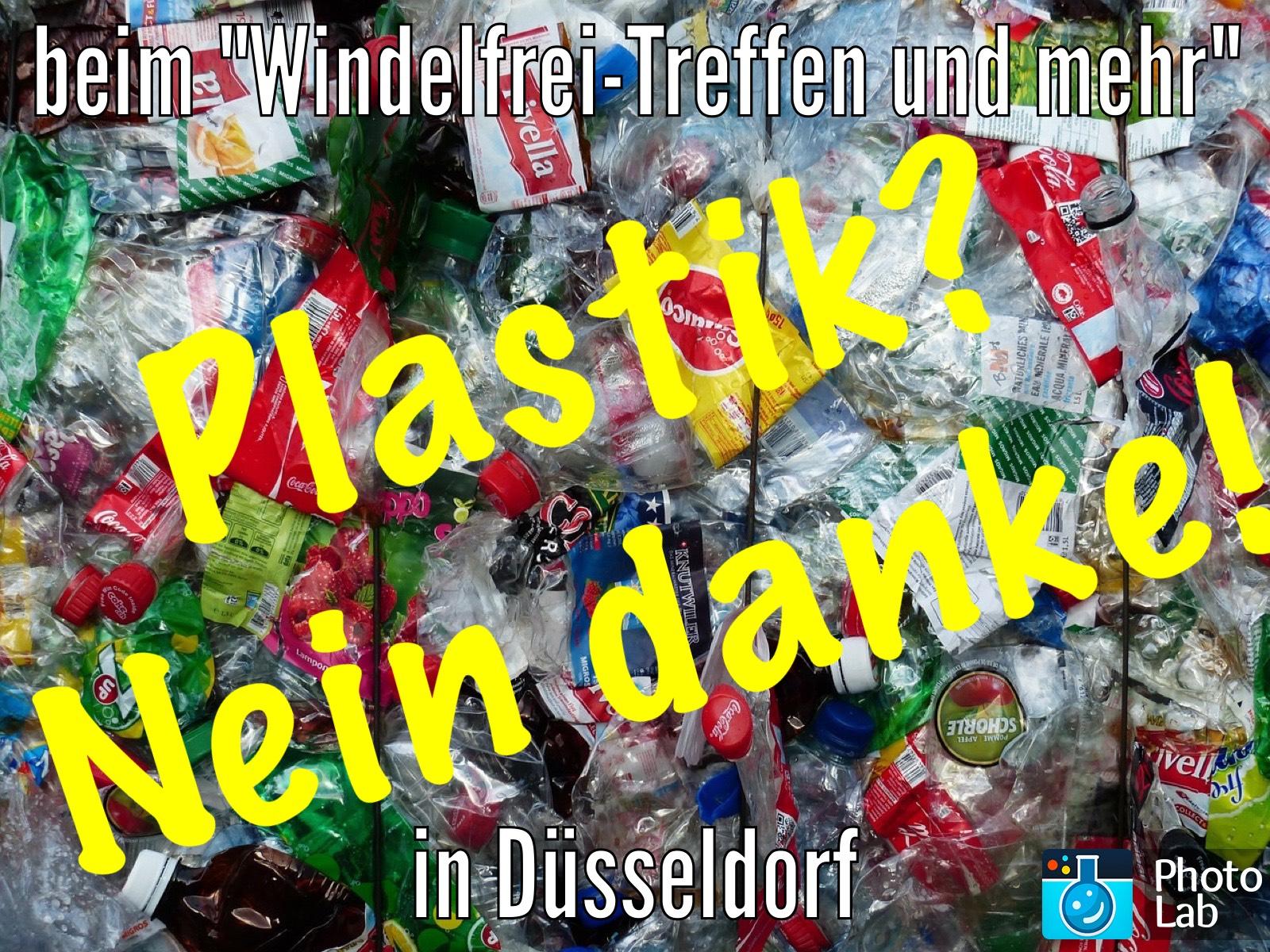 Kein Plastik! Windelfrei-Treffen und mehr in Düsseldorf