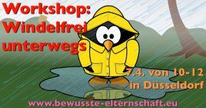Windelfrei Workshop Windelfrei unterwegs